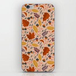 Pumpkin Spice - Sweater Weather iPhone Skin