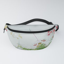 flower photography by chuttersnap Fanny Pack