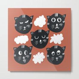 Moody CAT-kill Metal Print
