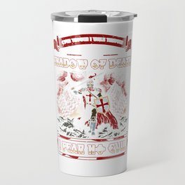Shadow Of Death, I Fear No Evil Crusader Travel Mug