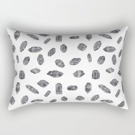 Watercolour Crystals Rectangular Pillow