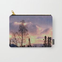 Rose Serenity Sky Carry-All Pouch