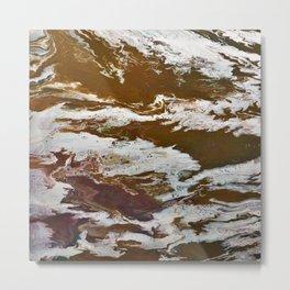 Thermal Waters Metal Print