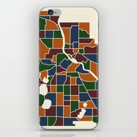 minneapolis iPhone & iPod Skins featuring Minneapolis Neighborhoods by MegaCork Photography