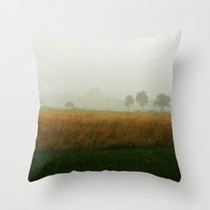 Brumes Throw Pillow