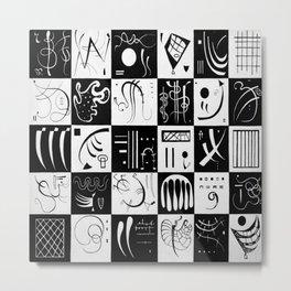 Wassily Kandinsky Thirty Metal Print