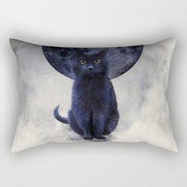 SPACE CAT Rectangular Pillow