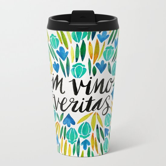 In Wine, There is Truth – Spring Palette Metal Travel Mug