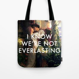 Romeo and Juliet in a World Alone Tote Bag