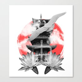 Japanese vibes Canvas Print
