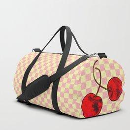 Two Red Cherries Duffle Bag