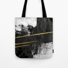 Gilded Grit Tote Bag