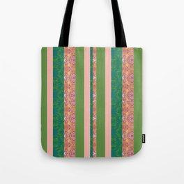 zakiaz bohemian stripe Tote Bag