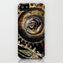 Grungy Gears iPhone Case