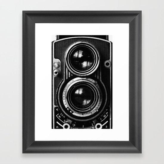 Boss Camera Framed Art Print