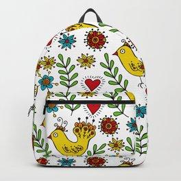 Yellow birds Backpack