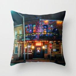 Speakeasy Saloon Throw Pillow