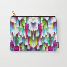 Colorful digital art splashing G396 Carry-All Pouch