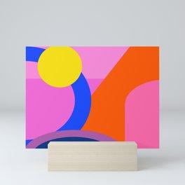 Shapes 72 Mini Art Print
