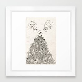 Devoured Concepts Framed Art Print