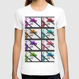 Floral poem T-shirt