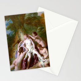 Jean-François de Troy Diana and Her Nymphs Bathing Stationery Cards
