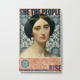 She The People 1 Metal Print