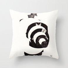 Deconstruction II (Void) Throw Pillow