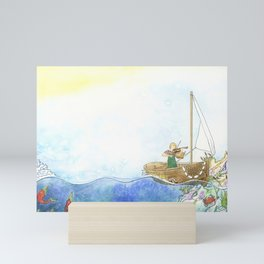 Maritime Festival Celebration Mini Art Print