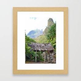 Ioa Valley, Maui Framed Art Print