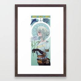 The Swallow Framed Art Print