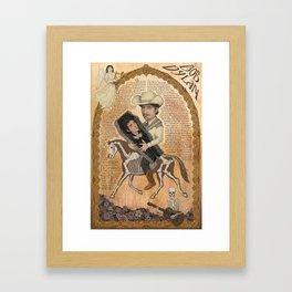 Bob Dylan - Find Out Something Only Dead Men Know Framed Art Print