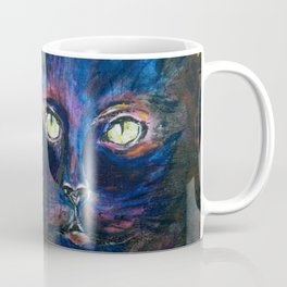 They Meet in the Night (Cats) Coffee Mug
