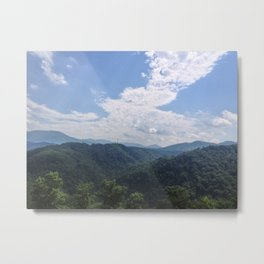 Smokey Mountains Metal Print