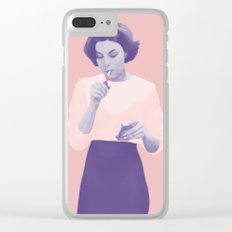 Twin Peaks Clear iPhone Case