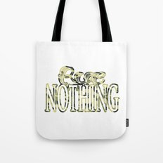 Rue Nothing Camo Logo Tote Bag