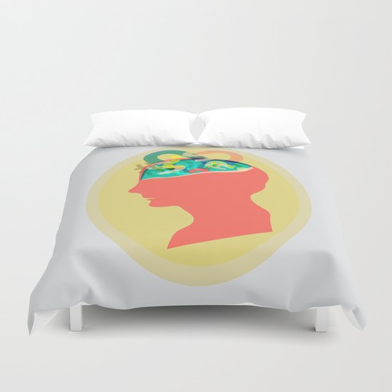 I can´t read your mind Duvet Cover