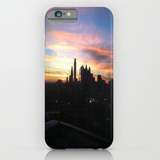 Sunset Skyline iPhone & iPod Case