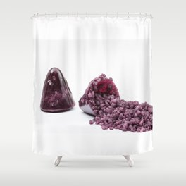 Cuberdons Shower Curtain