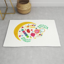 Party Makeup Pouch Rug