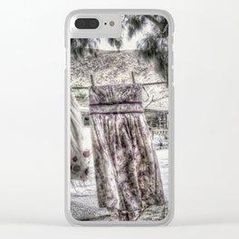 Klær til tørk Clear iPhone Case