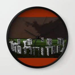 Stonedhenge Wall Clock