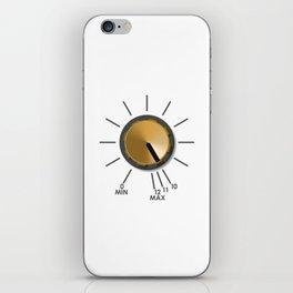 Turn It Up! iPhone Skin