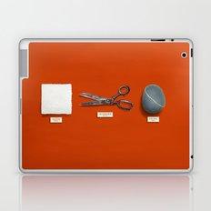 Paper, Scissors, Stone Laptop & iPad Skin