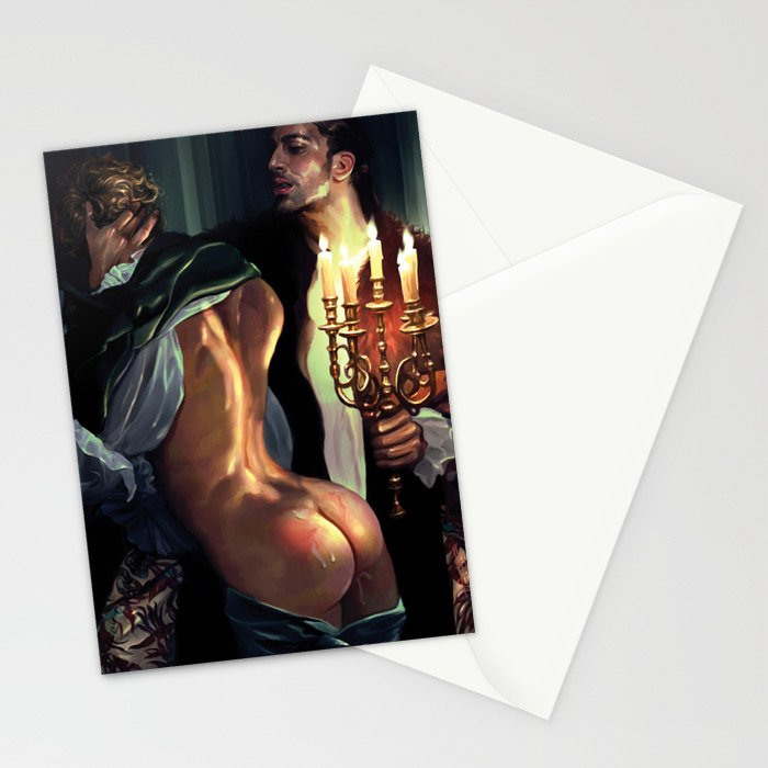 Candles Stationery Cards