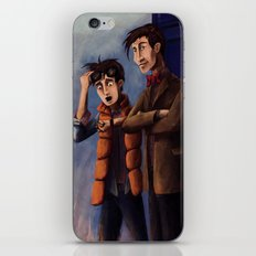 Time's Heroes iPhone & iPod Skin