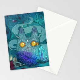 Night of witchcraft Stationery Cards