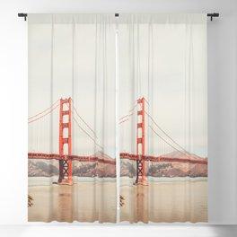 Golden Gate Bridge Sunset Blackout Curtain