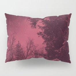 A cold wintry evening... Pillow Sham
