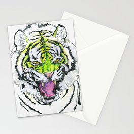 TIGER HUNGRY Stationery Cards